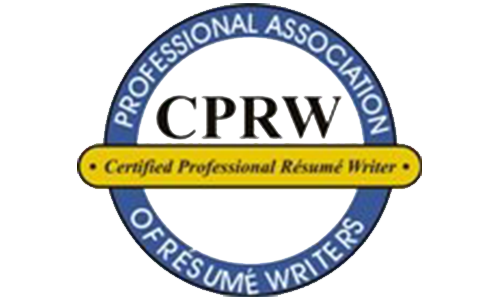 awards recognitions certified professional resume writer